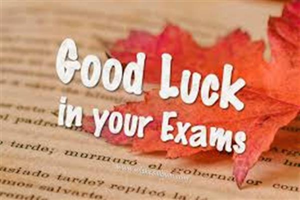 Good Luck to Leaving and Junior Certificate Students