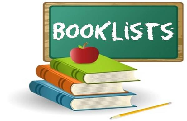 Book Lists 2019-2020