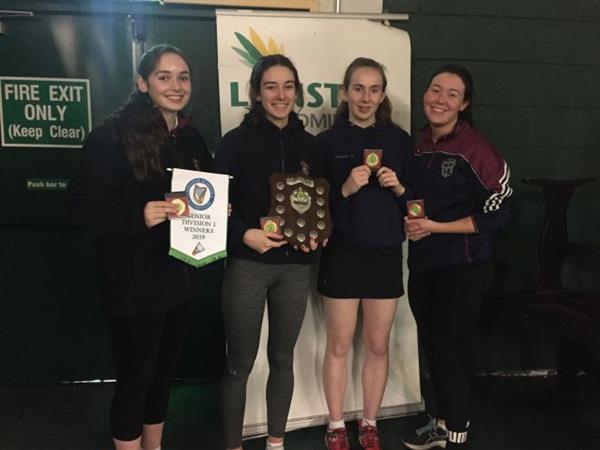 Leinster Title Winners in Badminton