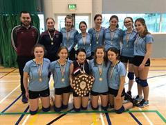 All Ireland Cadette Volleyball Winners