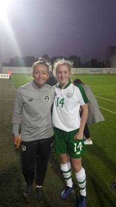 Orlagh Fitzpatrick Irish International