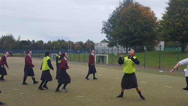Lunchtime Frisbee for health and wellbeing