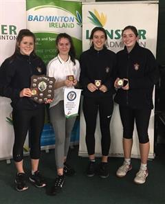 Under 19 Badminton Leinster Champions