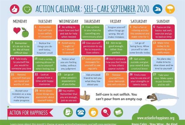 Self Care September 2020