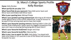 Sporting Superstar Kelly Riordan
