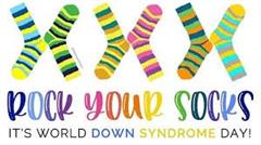 World Down Syndrome Day Wear your craziest pair of socks Friday 20th of March