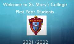 1st Year Welcome Video 2021