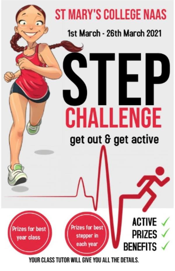St Marys College Class step Challenge 1st-26th March